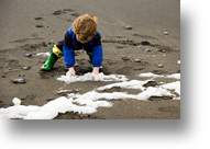 Playing in the Sea Foam